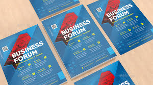 flyers forum business forum by antonbildyaev graphicriver