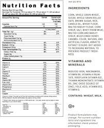 honey bunches of oats post consumer brands for honey bunches of oats nutrition label 22912