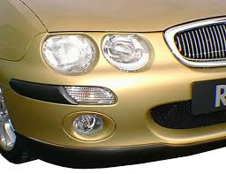 rover 25 headlight detail figure 5 the main developement to the exterior of the rover 25