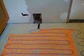 heated tile floor portable electric radiant floor heating for under area rugs heated tile floor best