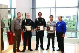 Casino Security Valley View Casino Hotel Security And Manager Honored For