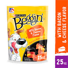 Purina Beggin Strips Dog Treats, Dog Training Treats, Original With Bacon -  (6) 6 oz. Pouches - Walmart.com