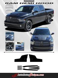 2018 dodge hemi. delighful 2018 20092017 dodge ram hemi hood blackout accent solid center winged vinyl  graphic truck 3m in 2018 dodge hemi