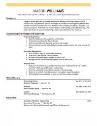 Cv For Accounting Job Junior Accountant Resume Example 782 Vision ...