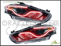 13-16 Dodge Dart-Perimeter LED Halo Rings Headlights Bulbs