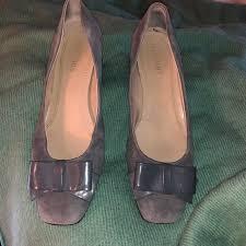 Ellen Tracy Shoes | Barton Dove Gray Suede Pumps 8 | Poshmark
