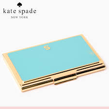 women s business card case salada bowl rakuten global market monogrammed kate spade kate ideas