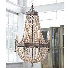 regina andrew design wood beaded chandelier 16 1008 in lighting 3