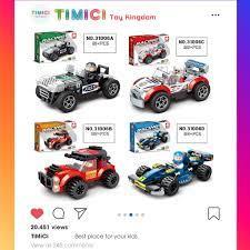 LG010] Xe ô tô đồ chơi lego xếp hình cho bé