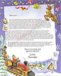 Scolling Image North Pole Letter 6
