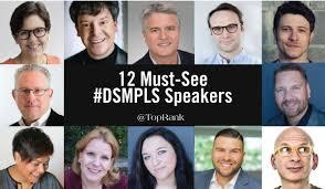 12 Must-See Speakers & Sessions at #DSMPLS | Diseño grafico y web.  Fotografia y video institucional. Marketing online