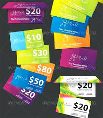 gift card formats free gift card design template colourful download sample