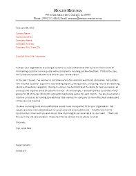 Customer Service Representative Cover Letter Customer Service Cover