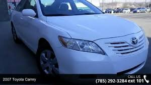 Used Car For Sale 2007 Toyota Camry Topeka - Video Dailymotion
