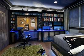 bedroom designs for teenagers boys. Bedroom Ideas For Teenagers Boys White Blue Laminated Wall Shelves Yellow Wardrobe Map Print Designs