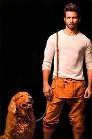 Shahid kapoor, Hund und Shahid Kapoor