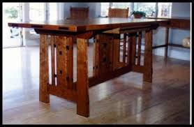 Craftsman Style Furnishings - Tables.