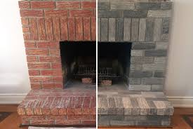 refinishing old brick fireplace ideas