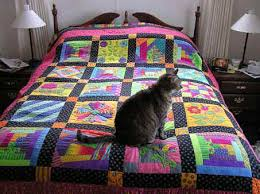 Bettys quilts & Betty calls this her