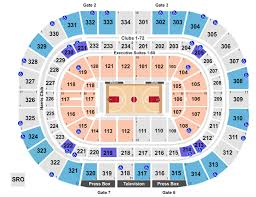 United Center Seating Chart Rows Seats And Club Seats