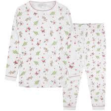 Designer Christmas Pajamas Magnolia Baby Christmas Cheers Long Pyjamas Nightwear