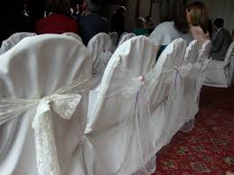 185 x ex hire ivory chair covers for