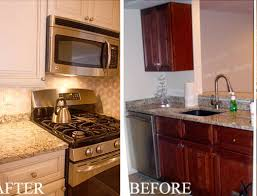 Painting Stained Kitchen Cabinets
