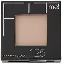 maybelline fit me pressed powder foundation 125 beige