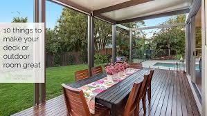 deck alfresco or outdoor space
