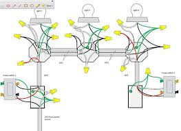 wireing diagram images wiring recessed lights in series threeway help wiring 3 lights