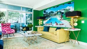 houzz furniture. bright bold furniture makes midcentury modern work in a puerto rican living room houzz newsletter m
