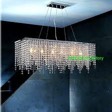 Kitchen chandelier lighting Ceiling Modern Crystal Chandelier Light For Dining Room Led Crystal Chandeliers Rectangle Kitchen Chandelier Lighting Led Hanging Lamp Aliexpress Modern Crystal Chandelier Light For Dining Room Led Crystal