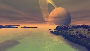 Resultado de imagen de La luna Titán
