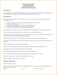 12 Health Care Aide Resume Home Health Aide Job Description