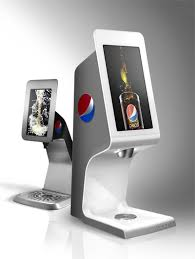 Countertop Soda Vending Machine Impressive PepsiCo Pilots Touchscreen Fountain Vender Articles Vending Times