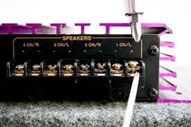 how to bridge a 4 channel amp it still works run speaker wire from the positive terminal of channel one to the positive terminal of the first subwoofer use the wire stripper to strip about ½ inch of