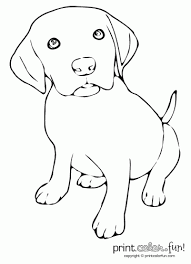 Small Picture Cute Puppy Coloring Pages To Print Out cute puppy pictures to