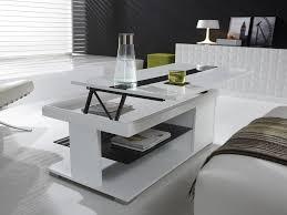 Table Basse Transforable Avec Plateau Relevable