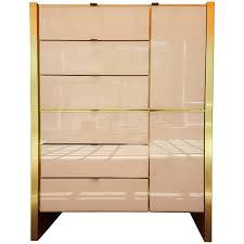 Dresser With Cabinet Ello Chrome Dresser Sideboard Cabinet Milo Baughman Paul Evans