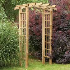 forest garden ryeford wooden garden arch