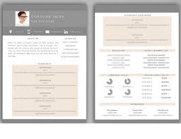 2 Page Resume Template All Best Cv Resume Ideas