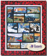 Quilt Club - Canadian Mystery Quilt by Shania Sunga - Hamels ... & Oh Canada (Canadian Mystery) <b>FINISHING KIT</b> Quilt Adamdwight.com