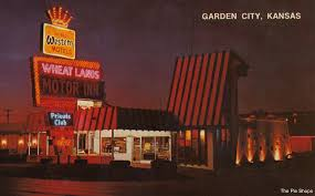 wheat lands motor inn garden city kansas by the cardboard america archives