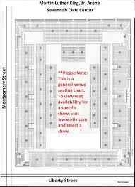 Martin Luther King Jr Arena Savannah Civic Center
