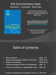Apa Style Tutorial With Supplement For Pamphlet Citation Apa Style