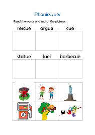 Esl phonics & phonetics worksheets for kids download esl kids worksheets below, designed to teach spelling we have carefully grouped them into various types of sheets to easy access. Phonics Ue Worksheet
