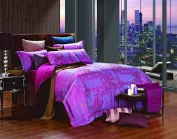 alluring queen size bedding sets for bedroom decoration ideas cliodnadolce mela purple queen size bedding