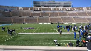 Falcon Stadium Section L23 Row L Seat 10 Air Force