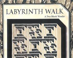 Pattern Labyrinth Walk by The Guilty Quilter GQU02 Quilt & Quilt Pattern - Labyrinth Walk - Instruction Guide, Pattern by The Guilty  Quilter Adamdwight.com