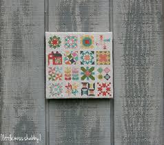 Classic Quilt Block Sampler Cross Stitch | FaveQuilts.com & Classic Quilt Block Sampler Cross Stitch Adamdwight.com